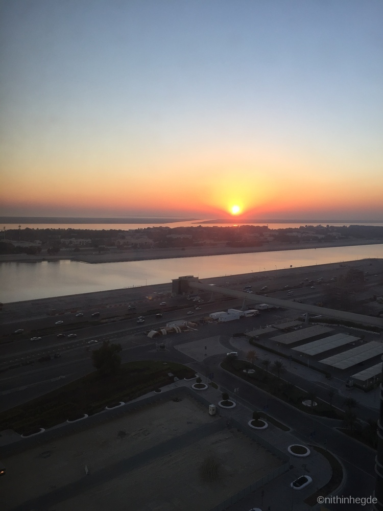 View from Hotel Capital Centro by Rotana, Abu Dhabi