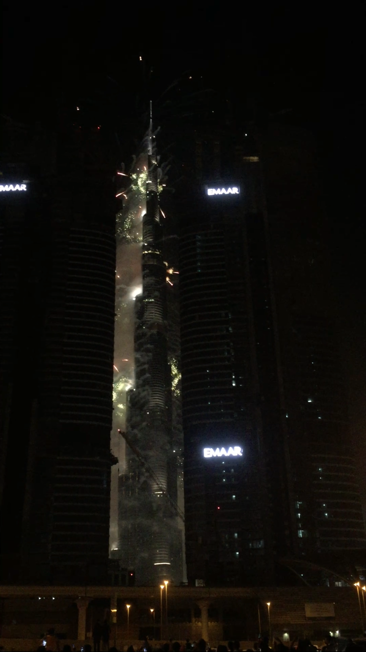 New Year Celebration @ Burj Khalifa