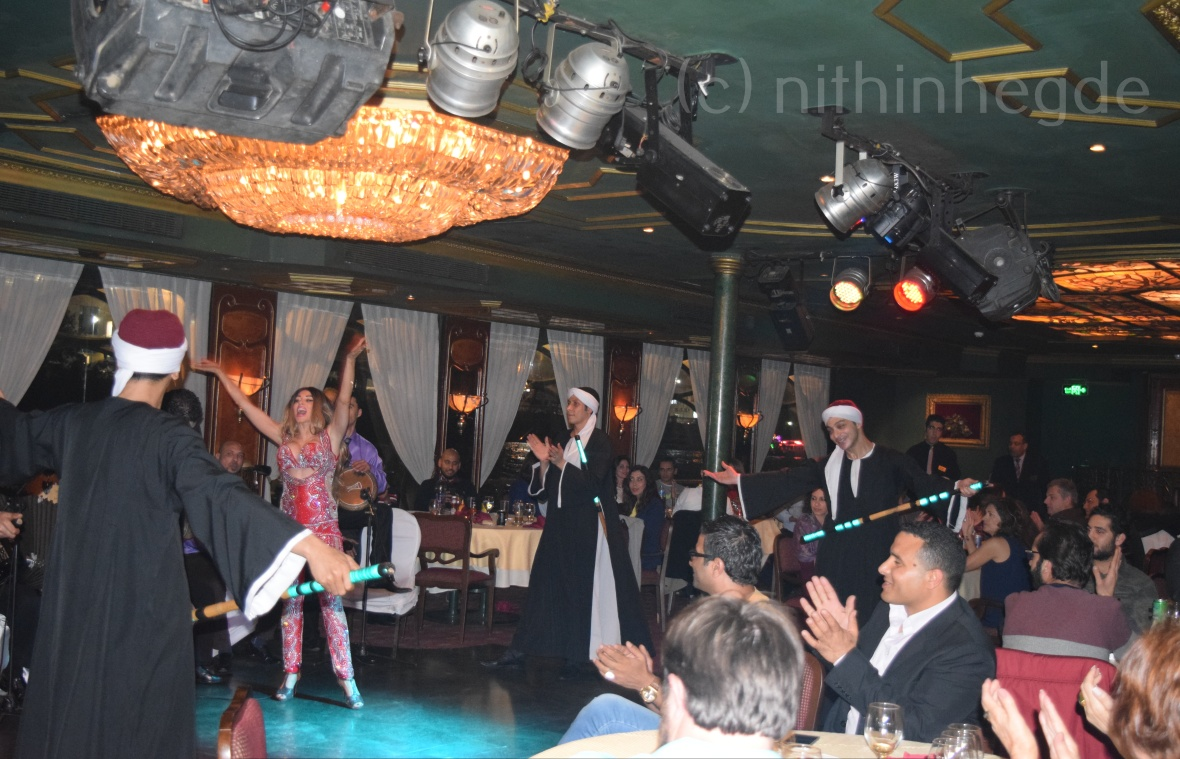Show at Nile Dinner Cruise in Cairo