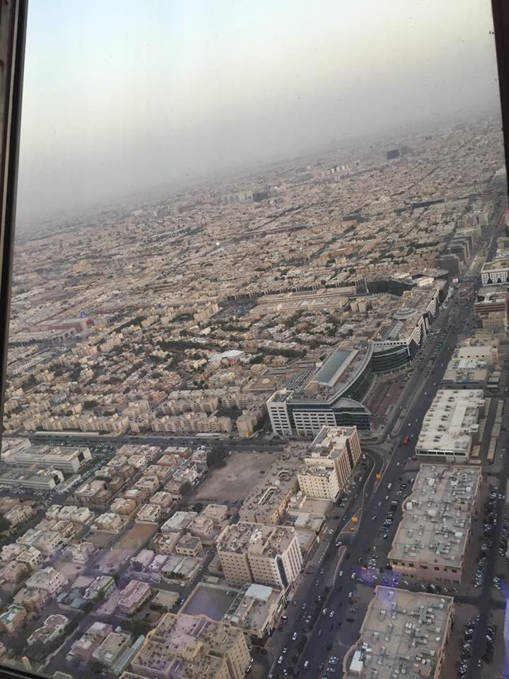 View From Kingdom Tower - Riyadh - Saudi Arabia