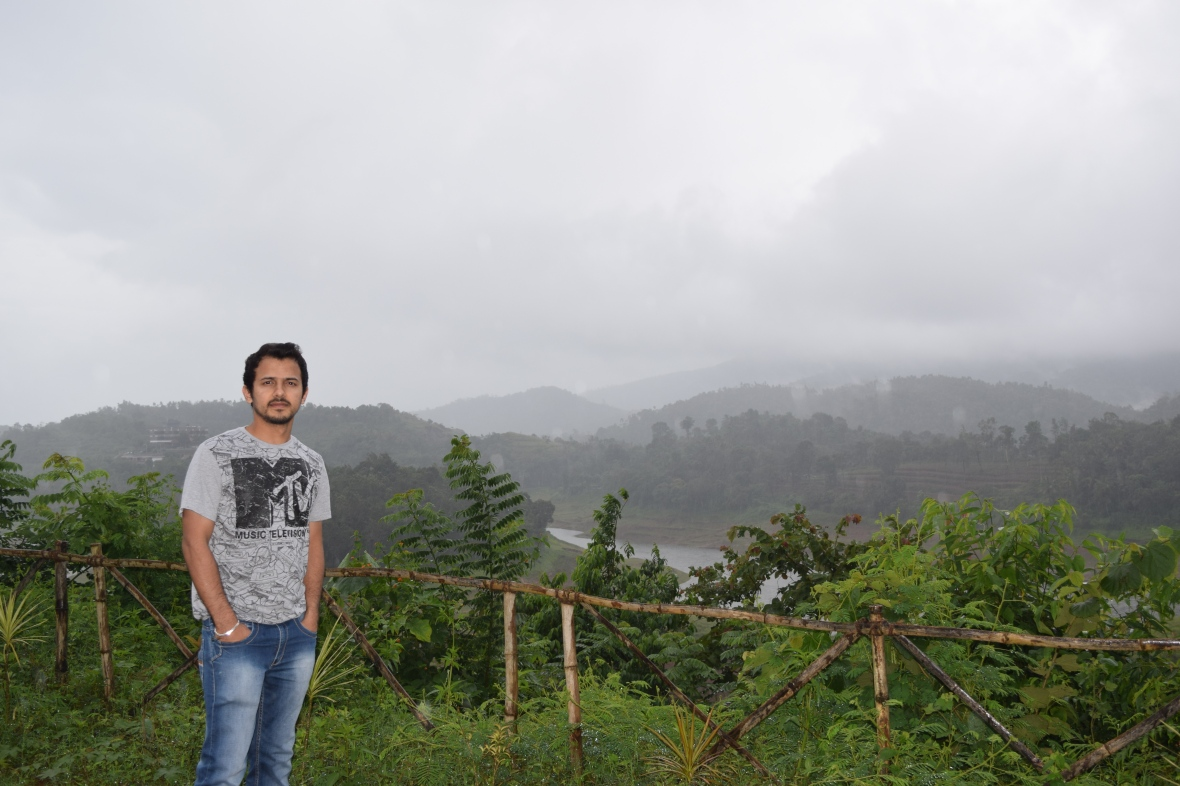 Mesmerizing View of Banasura Dam in the backdrop