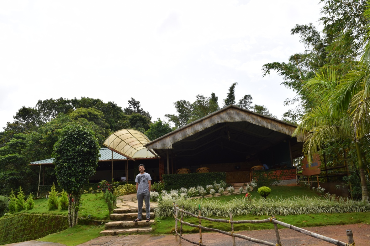 View of Seagot Banasura Resort Entrance