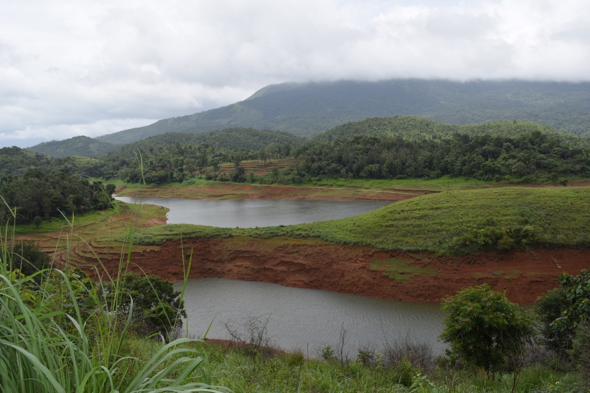 Breathtaking View of the Banasura Dam Back Waters from Resort