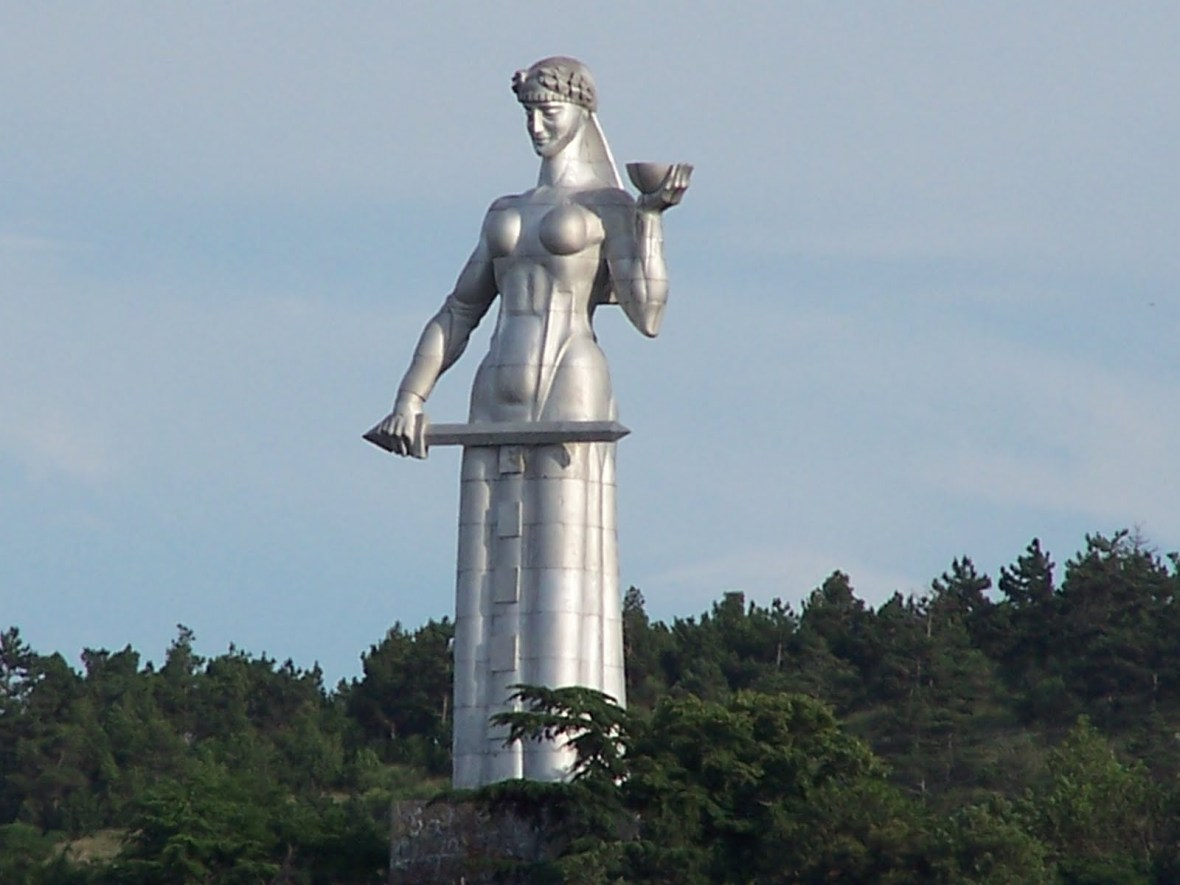 Statue of Mother of Georgia