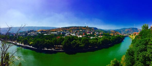 Panoramic View of the City :)