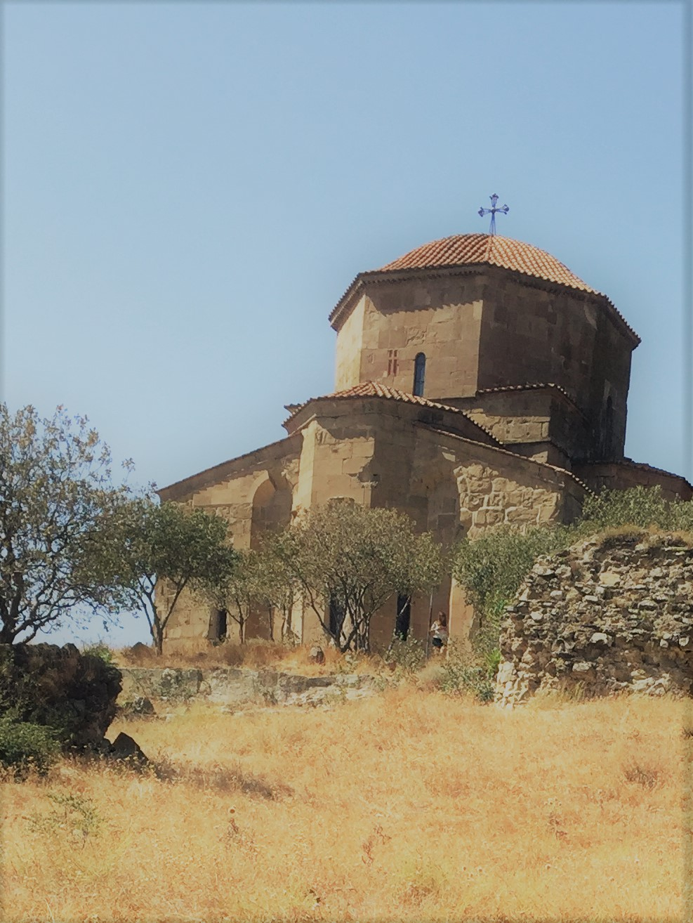 View of Jvari Monastery