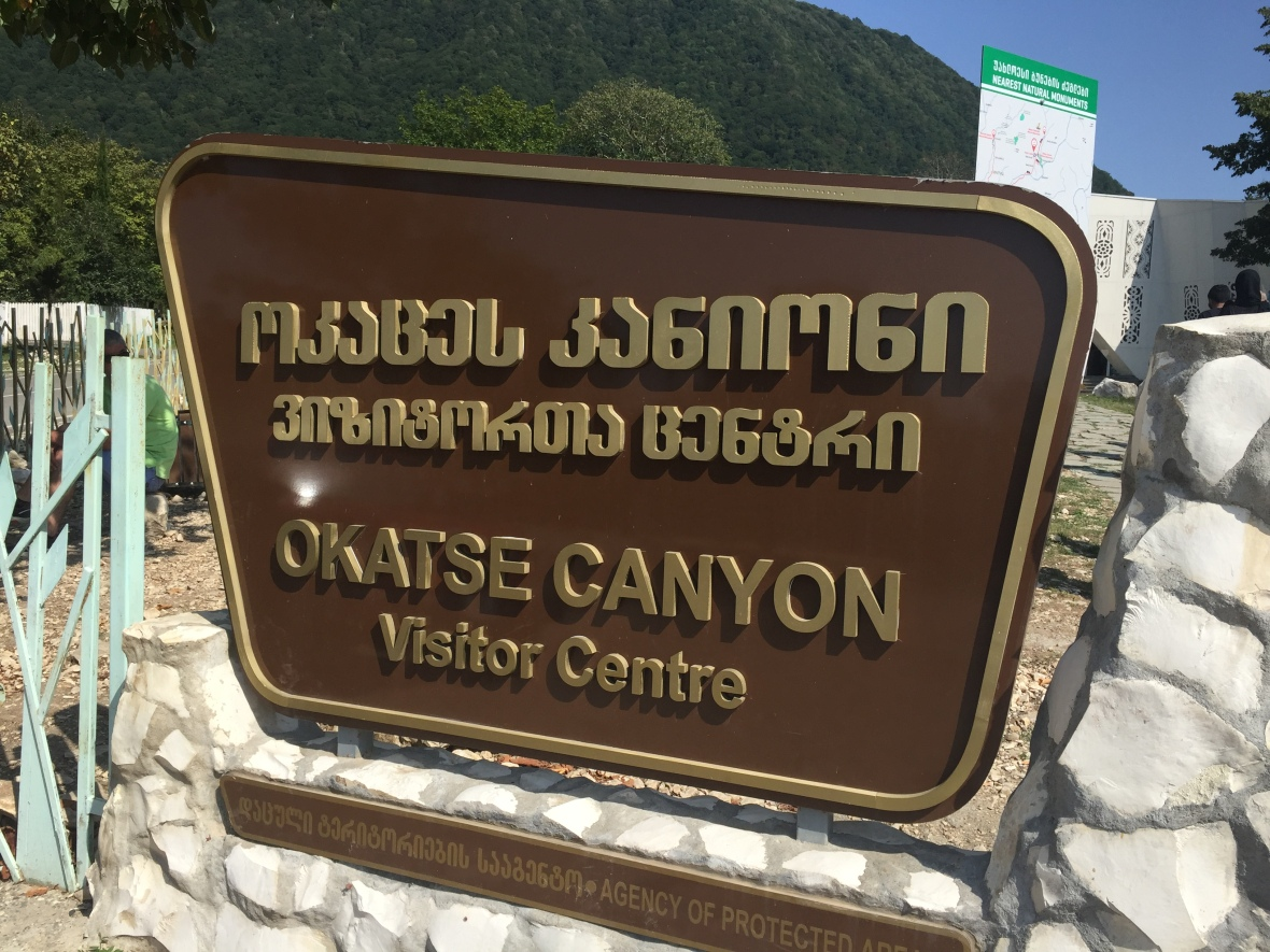 Okathse Canyon Visitor Centre