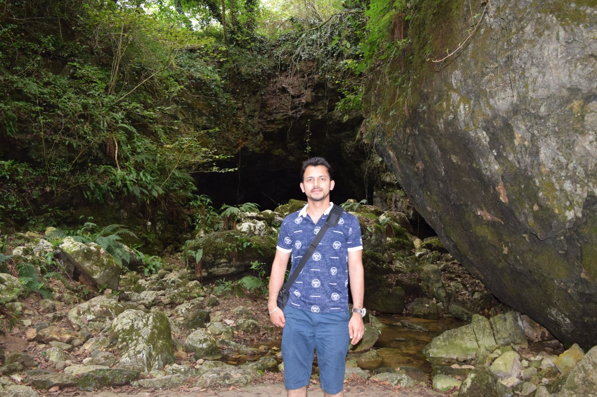 Near to the Entrance of the Cave :)