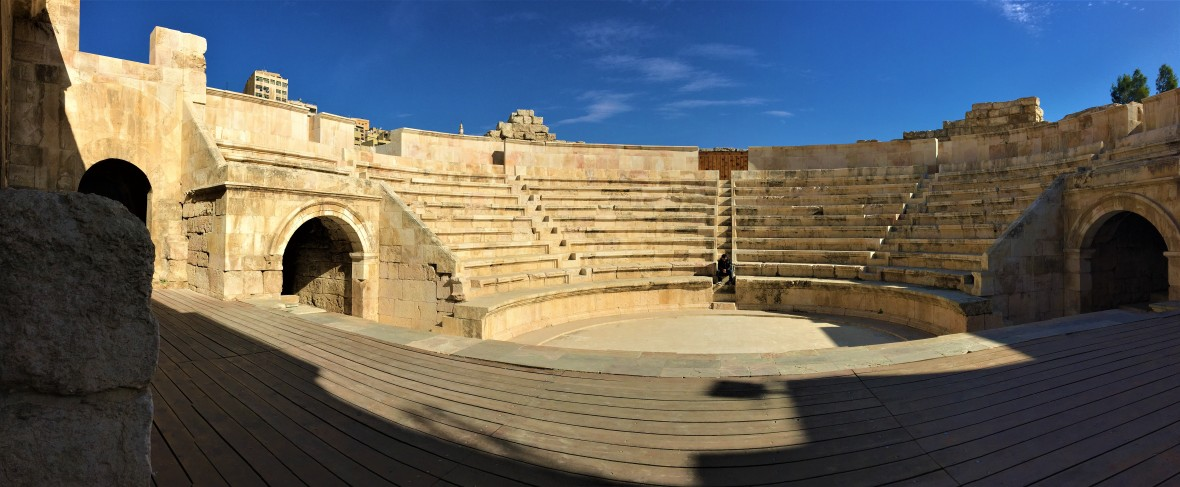 Panoramic View of Odeon Theater