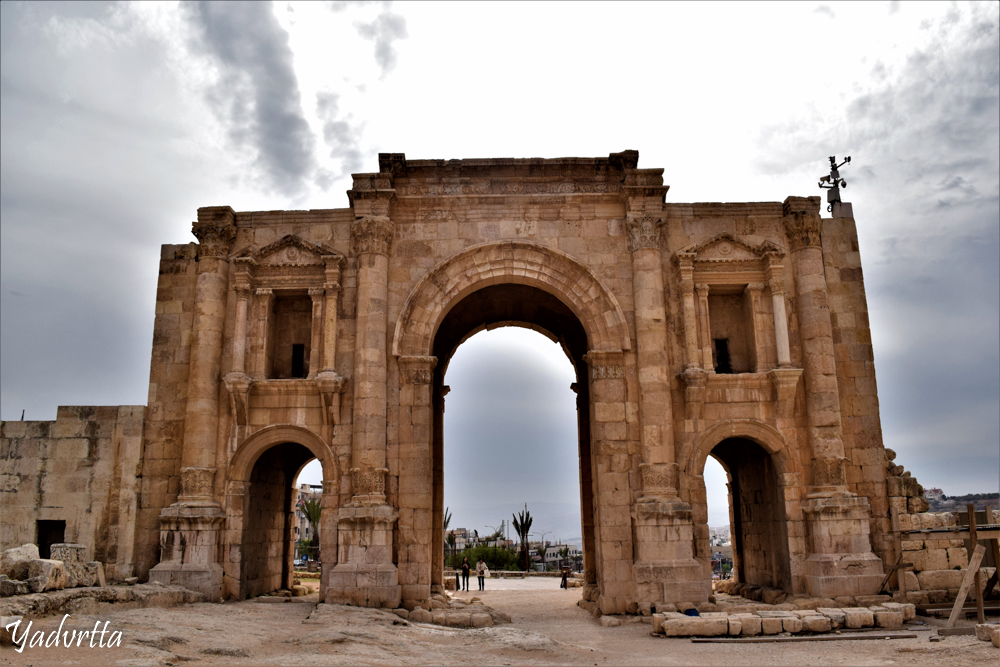 Rear View of Arch of Hadrian :)