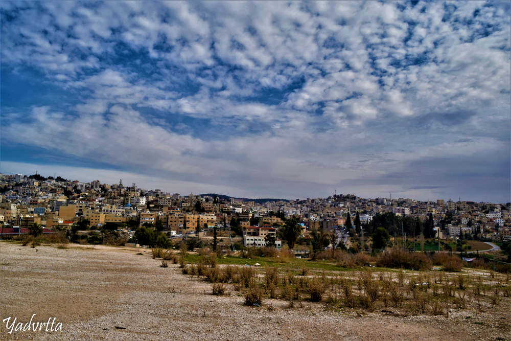 View of Jerash City from Archaeological Site
